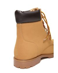 Forever 21 - Brown Faux Nubuck Hiking Boots for Men - Lyst