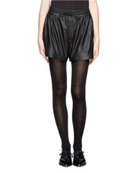 Hansel From Basel Black Donegal Nep Tights