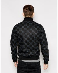 G-Star RAW - G Star Raw For The Oceans Fallden Bomber Jacket Black All Over Print for Men - Lyst