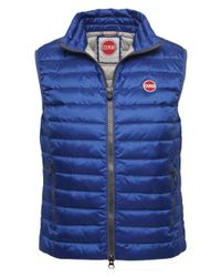 Colmar | Blue Down Gilet for Men | Lyst