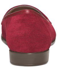 Aerosoles - Red Surreal Flats - Lyst