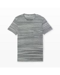 Club Monaco | Blue Short-sleeve Stripe Tee for Men | Lyst