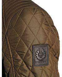 Belstaff Green Bramley Quilted Nylon Jacket for men