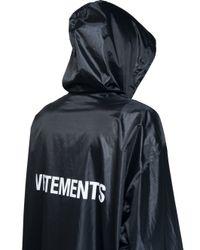 Vetements - Green Raincoat - Lyst