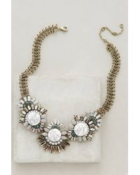 BaubleBar | Green Oak Moss Bib Necklace | Lyst