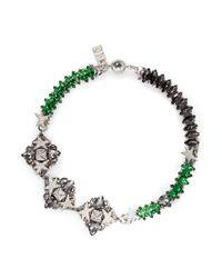 Assad Mounser | Green 'betelgeuse' Swarovski Crystal Necklace | Lyst
