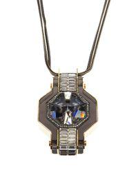 Lanvin | Metallic 'marie Laure' Necklace | Lyst