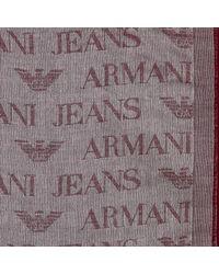 Giorgio Armani - Purple Scarf Man for Men - Lyst