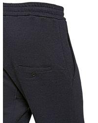Antonio Marras Gray Viscose Jersey Fleece Trousers for men