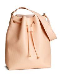 H&M Natural Bucket Bag