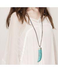 Jenny Bird Blue Wildland Necklace - Large