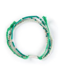 Paul Smith | Green 'Beaded Bracelet' for Men | Lyst