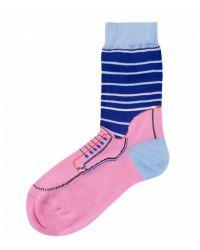 Paul Smith Pink Turner Socks