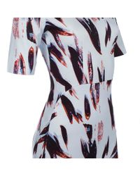 Paul Smith | Blue Painterly Camo Ribbed Dress | Lyst