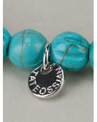 Tateossian | Blue Semi Precious Stone Bracelet for Men | Lyst
