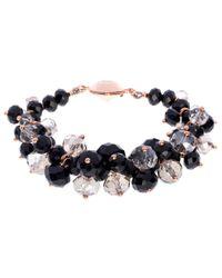 Ted Baker - Black Chelly Bead Cluster Bracelet - Lyst