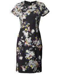 Erdem | Multicolor Marta Dress | Lyst