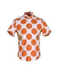 KENZO - Pink Shirt for Men - Lyst