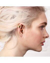 Maya Magal - Metallic Little Ear Cuff Gold - Lyst