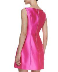 kate spade new york Pink Sleeveless Structured Mini Dress