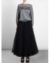 Ashish - Sequinned Black Tutu Skirt - Lyst