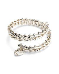 ALEX AND ANI | Metallic 'vintage 66' Chain Wrap Bracelet | Lyst
