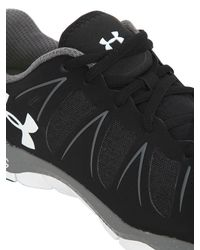 Under Armour Black Micro G Engage Ii Training Shoes