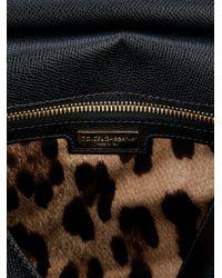 Dolce & Gabbana Black Small Tote