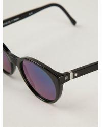Mykita Black 'miranda' Sunglasses