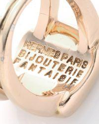 Hermès | Metallic HermãˆS Corozo Ring | Lyst