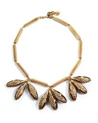 Lulu Frost | Metallic Pod Necklace | Lyst