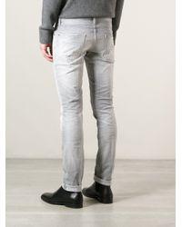DSquared² Gray Cool Guy Skinny Jeans for men