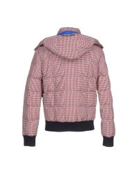 Patrizia Pepe   Red Down Jacket for Men   Lyst