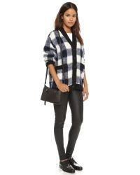 Linea Pelle | Hunter Cross Body Bag - Black | Lyst