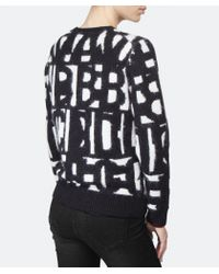 Paul Smith Black Label - Black Letter Sweater - Lyst