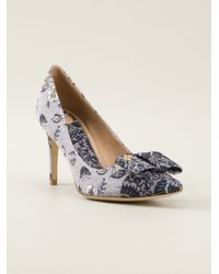 Tory Burch Blue 'Aimee' Pump