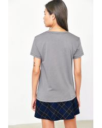 BDG Gray Perfect V-neck Tee