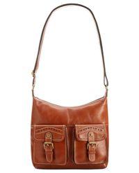Patricia Nash | Brown Soft Veg Tan Collection Armeno Messenger Bag | Lyst