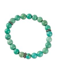Ali Grace Jewelry - Blue Beaded Bracelet - Lyst