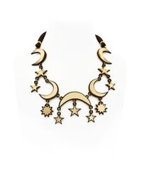 Yazbukey - Metallic Fortune Teller Collection Necklace - Lyst