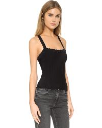 Nanette Lepore - Black Enchantress Corset Blouse - Lyst