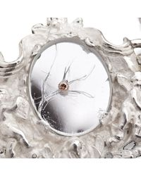 Lisa E Moss - Metallic Cupid Frame Bracelet - Lyst