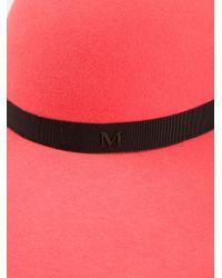 Maison Michel - Red 'Capeline' Hat - Lyst