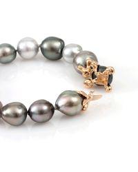 Lucifer Vir Honestus - Metallic Multicolor Tahitian Pearl Bracelet - Lyst