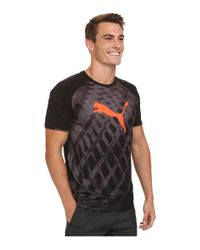 PUMA - Black It Evotrg Graphic Tee for Men - Lyst
