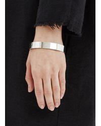 Spinelli Kilcollin - Metallic Silver Narrow Cuff - Lyst