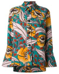 Marni | Multicolor Floral Shirt Jacket | Lyst