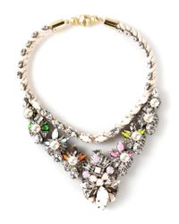 Shourouk | Multicolor River Absinthe Necklace | Lyst
