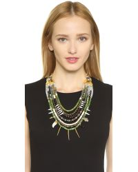 Lizzie Fortunato - Turquoise And Riad Necklace - Blue/green - Lyst