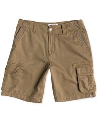 Quiksilver | Natural Deluxe Camo Cargo Shorts for Men | Lyst